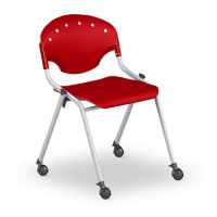 Mobile Armless Stack Chair, C67830