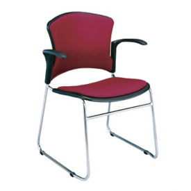 Fabric Guest Chair with Arms, C67837