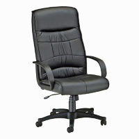 Leatherette High Back Chair, C80111
