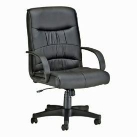 Leatherette Mid-Back Chair, C80112