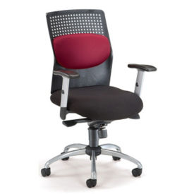 Brushed Metal Conference Chair, C80119