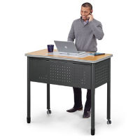 "Mesa Compact Standing Height Desk - 47""W, D35662"
