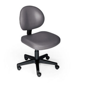 Ergonomic Task Chair without Arms on Wheels, D50022
