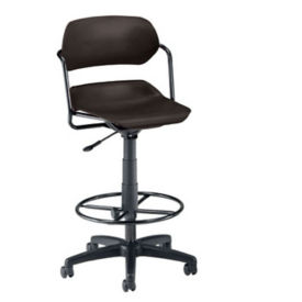 Plastic Swivel Stool, D57275