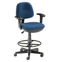 Lite-Use Stool with Adjustable Arms, D57284
