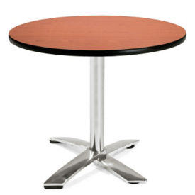 "Round Flip-Top Lunchroom Table - 36"" Diameter, T11475"
