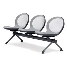 Steel Mesh Three Seat Beam, C70371