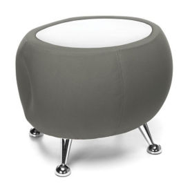 Low Fabric End Table with Laminate Top, T10060