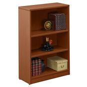 """Contemporary Three-Shelf Bookcase - 48"""", B30555"""
