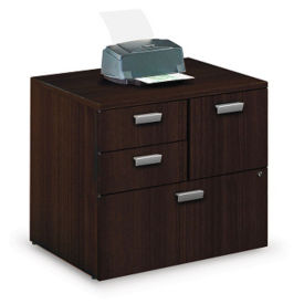 Contemporary Combination File Cabinet , B30556