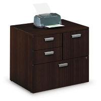 Contemporary Combination File Cabinet , B30556