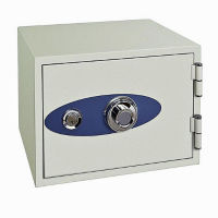 Fire Resistant Safe with Electronic Lock - .58 Cubic Ft Capacity, L40373