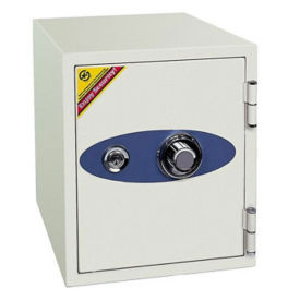 Fire Resistant Safe with Two Locks - .87 Cubic Ft Capacity, L40371
