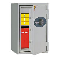Fire Resistant Safe with Digital Lock - 2.88 Cubic Ft Capacity, L40389