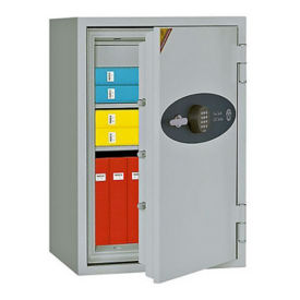Fire Resistant Safe with Digital Lock - 4.56 Cubic Ft Capacity, L40390