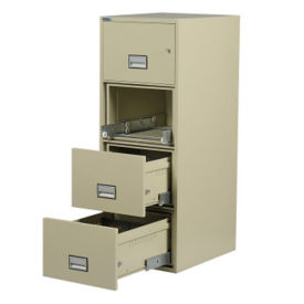 "Four Drawer Fire Resistant Vertical File - 31"" D, L40771"