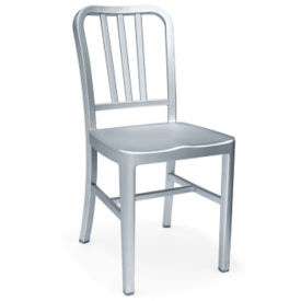 Aluminum Cafe Chair, F10329