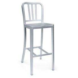 Aluminum Bar Height Stool, F10330