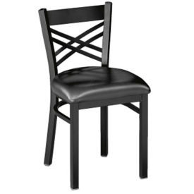 """Cross-Back Chair 19"""" High, D45183"""