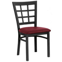 "Grid-Back Chair 19"" High, D45185"