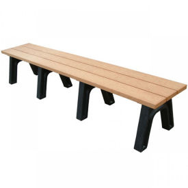 Recycled Plastic Economy Outdoor Bench - 8 Ft, F10566