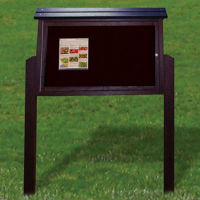 "Single Sided Outdoor Message Center - 40""W x 96""H, B23363"