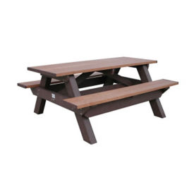 "Recycled Plastic Picnic Table - 72""W, F10213"