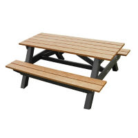 "Recycled Plastic Youth Picnic Table - 60""W, F10247"