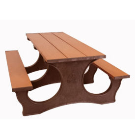 Easy Access Recycled Plastic Picnic Table 6', F10293