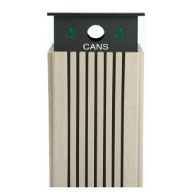 40 Gallon Recycling Receptacle for Cans , R20298