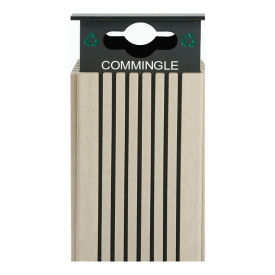 40 Gallon Commingled Recycling Receptacle , R20301