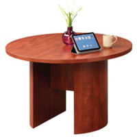 "Encompass Round Conference Table - 48""DIA, T11895"
