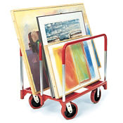 """Panel Mover with 8"""" Quiet Casters, V20828"""