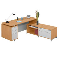 Double Surface L-Desk, D35589