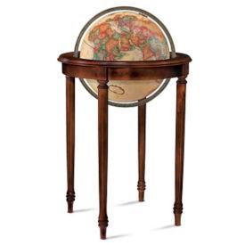 """Raised Relief Regency Globe - 16"""" Diameter, V21457"""