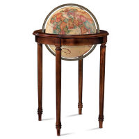 "Raised Relief Regency Globe - 16"" Diameter, V21457"