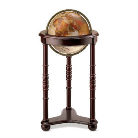"Raised Relief Lancaster globe - 12"" Diameter, V21458"