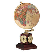 "Desktop Weather Watch Globe - 9"" Diameter, V21459"