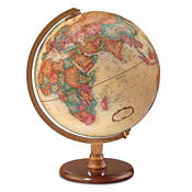 "Desktop Hastings Globe - 12"" Diameter, V21464"