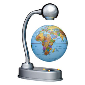 "Desktop Levitating Globe - 3.5"" Diameter, V21466"