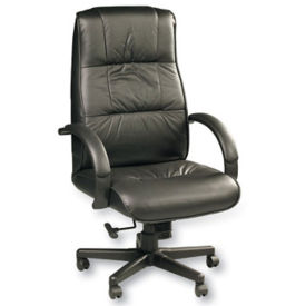 High Back Leather Chair, C80083