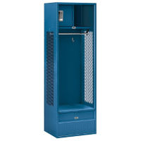 "Assembled Open Access Locker 24""W x 18""D x 72""H, B30052"