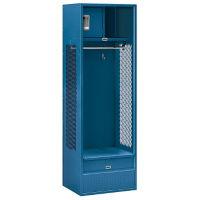 """Assembled Open Access Locker 24""""W x 18""""D x 72""""H, B30052"""