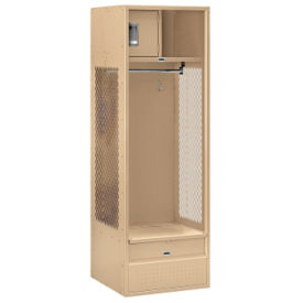 "Assembled Open Access Locker 24""W x 24""D x 72""H, B30081"