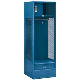 "Unassembled Open Access Locker 24""W x 24""D x 72""H, B30082"