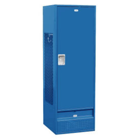 "Unassembled Solid Door Team Locker 24""W x 24""D x 72""H, B30084"