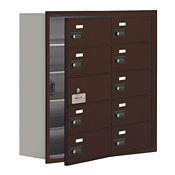 """9 Door Cell Phone Locker with Combo Lock and Access Panel - 30.5""""W x 31""""H, B34617"""