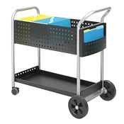 "32"" Scoot Mail Cart, L40734"