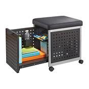 "1 Drawer Mobile Pedestal with Cushion - 18""W, B30005"