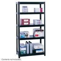 "Boltless Steel Shelving Unit - 36""x18"", B32204"